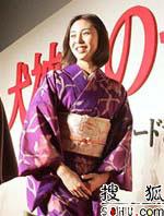 松岛菜菜子重返大银幕 重新演绎古典绝世美女